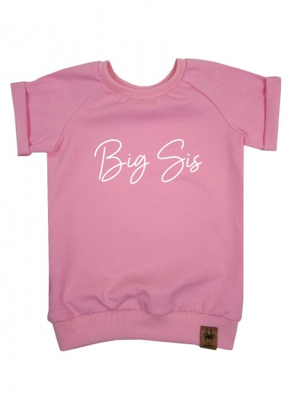 "T-Shirt hellrosa ""Big Sis"""