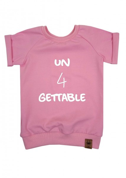 "Geburtstags-T-Shirt hellrosa ""un4gettable"""