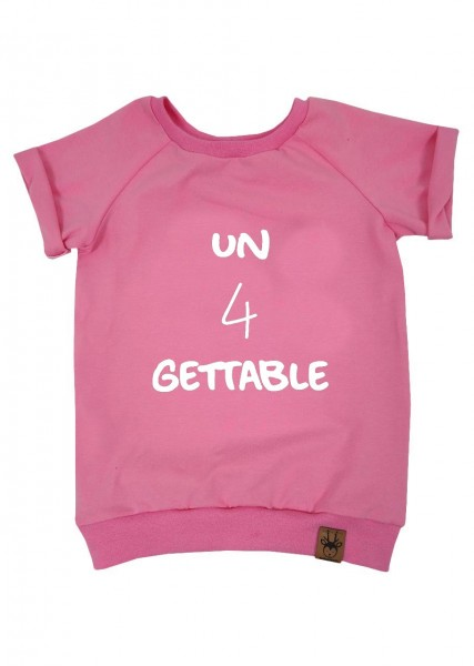 "Geburtstags-T-Shirt rosa ""un4gettable"""