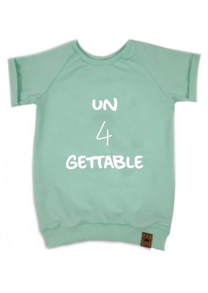 "Geburtstags-T-Shirt mint ""un4gettable"""