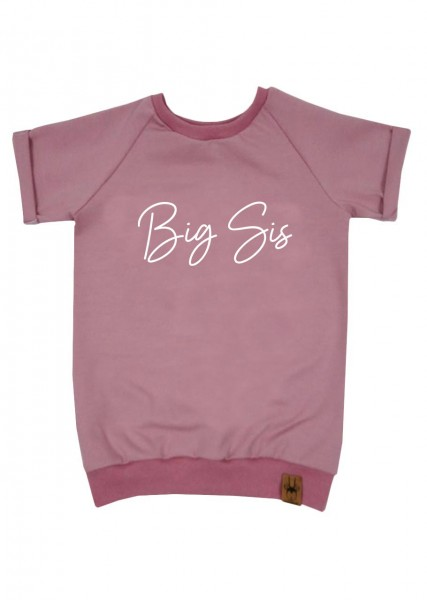 "T-Shirt altrosa ""Big Sis"""