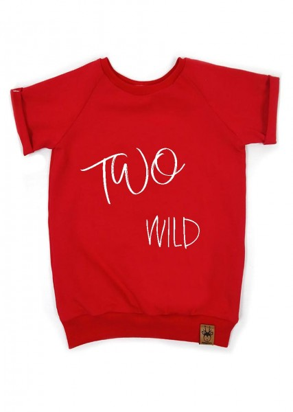 "Geburtstags-T-Shirt rot ""Two wild"""