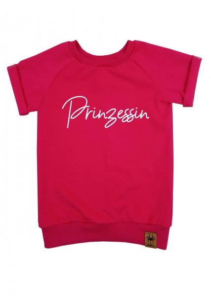 "T-Shirt pink ""Prinzessin"""
