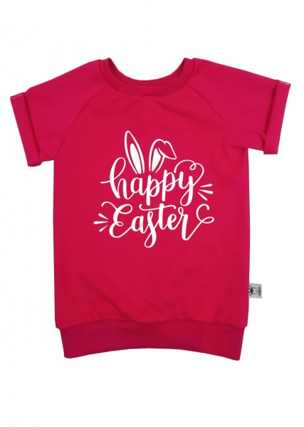 """T-Shirt """"Happy Easter"""" pink"""