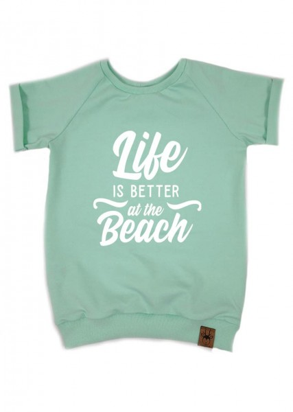 "T-Shirt ""Life is better at the beach"""