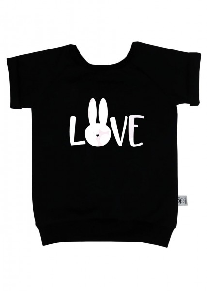 "T-Shirt ""Easter-LOVE"" schwarz"