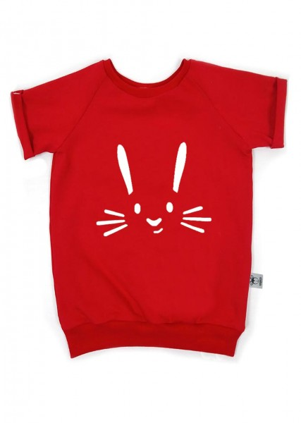 """T-Shirt """"Hase"""" rot"""