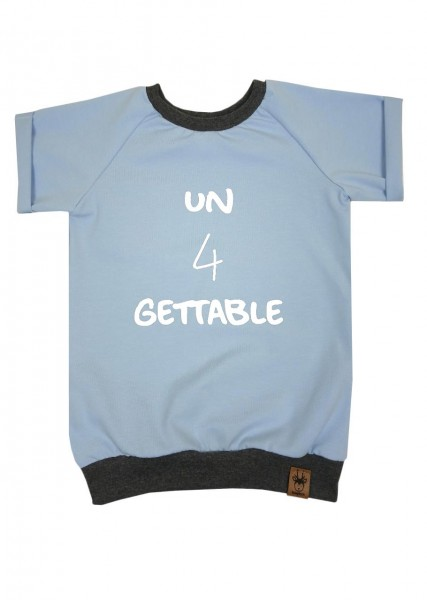 "Geburtstags-T-Shirt hellblau ""un4gettable"""